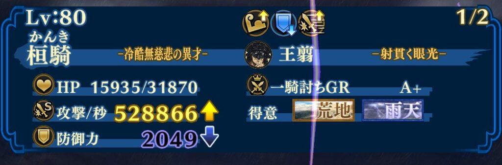 ☆7桓騎DPS