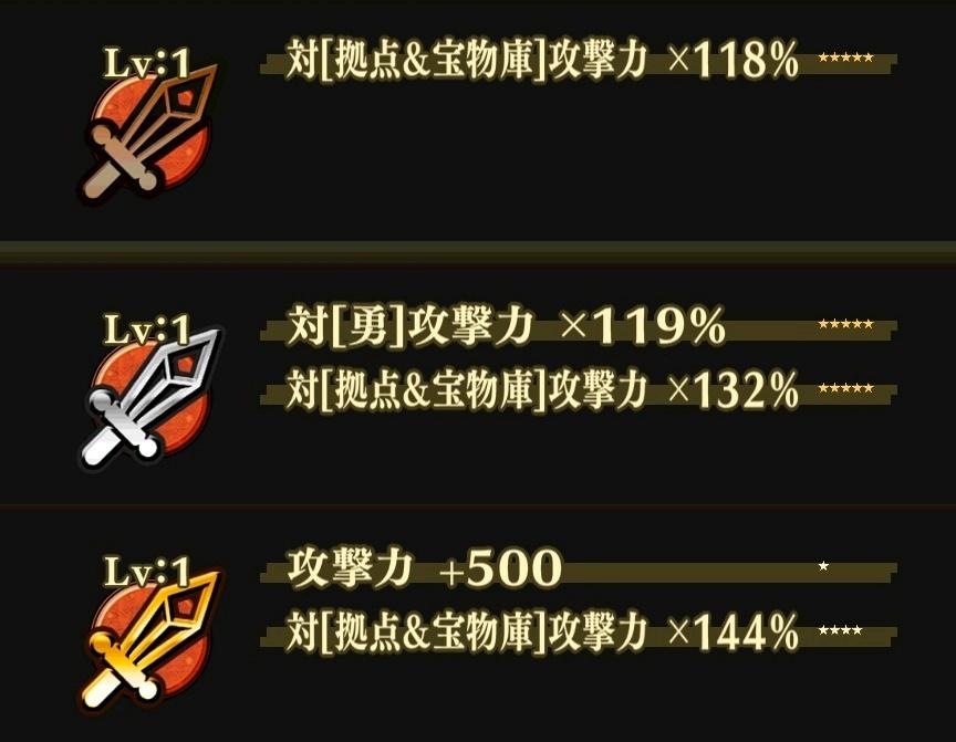 金・銀・銅の3種類