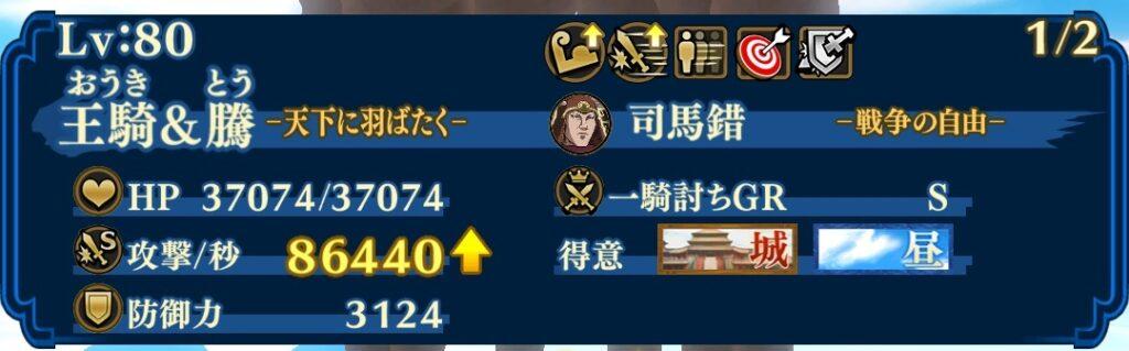 王騎騰DPS